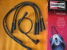 FIAT PANDA,UNO(1986 on) LANCIA Y10 NEW CHAMPION TRIPLE SILICONE IGNITION LEADS